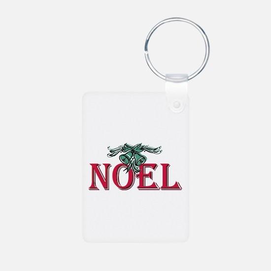 Noel Aluminum Photo Keychain