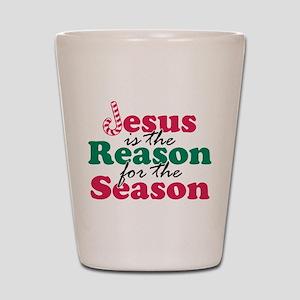 About Jesus Cane Shot Glass