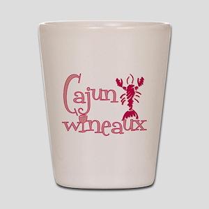 Cajun Wineaux crawfish Shot Glass