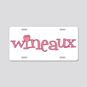 Wineaux gl bur Aluminum License Plate