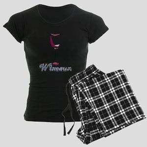 Wineaux Women's Dark Pajamas