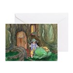 Frog Travel Greeting Cards (Pk of 10)
