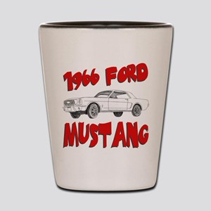1966 Ford Mustang Shot Glass