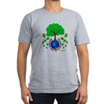 Earth Day Everyday Men's Fitted T-Shirt (dark)