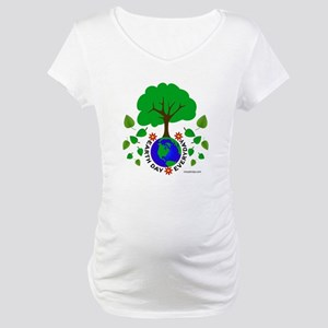 Earth Day Everyday Maternity T-Shirt