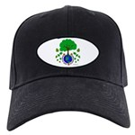 Earth Day Everyday Black Cap