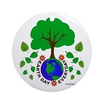 Earth Day Everyday Ornament (Round)