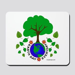 Earth Day Everyday Mousepad