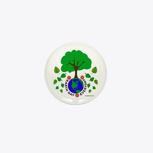 Earth Day Everyday Mini Button