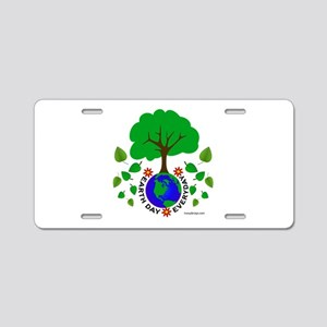 Earth Day Everyday Aluminum License Plate