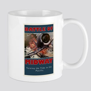 Battle of Midway Naval Battle - WWII Mugs