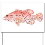 Strawberry Grouper Yard Sign