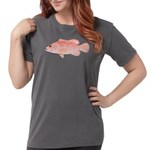 Strawberry Grouper Womens Comfort Colors® Shirt