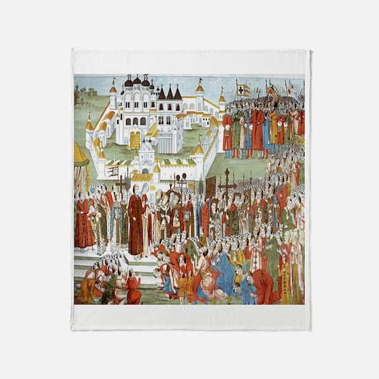 Hypatian Monastery (1673) Throw Blanket