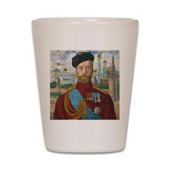 Tsar Nicholas II Shot Glass