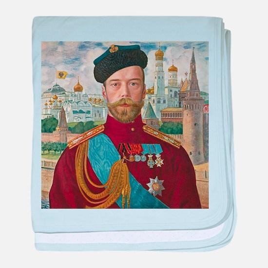 Tsar Nicholas II baby blanket