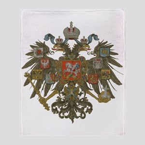 Romanov Dynasty Throw Blanket