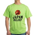 Japan Relief Green T-Shirt