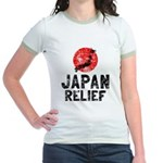 Japan Relief Jr. Ringer T-Shirt