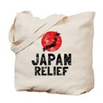 Japan Relief Tote Bag