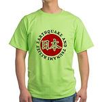 Hope for Japan Green T-Shirt