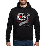Hope for Japan Hoodie (dark)