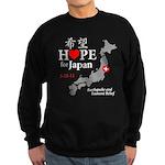 Hope for Japan Sweatshirt (dark)