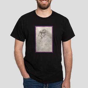 King Charles English Toy Spaniel Dark T-Shirt