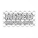 Mixed Martial Arts Aluminum License Plate