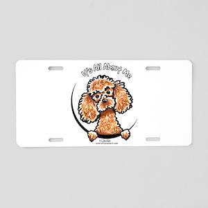 Apricot Poodle IAAM Aluminum License Plate