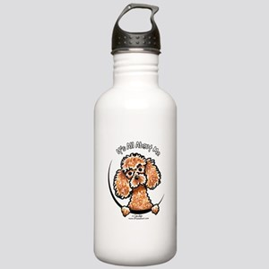 Apricot Poodle IAAM Stainless Water Bottle 1.0L