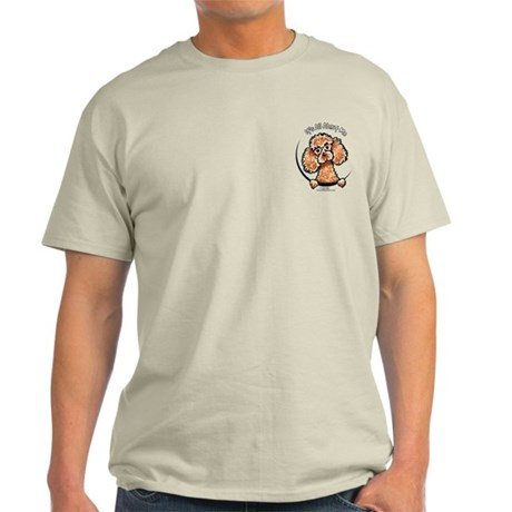 Apricot Poodle IAAM Pocket Light T-Shirt