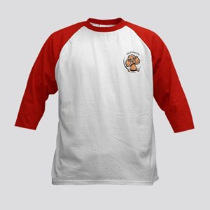 Apricot Poodle IAAM Pocket Kids Baseball Jersey