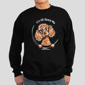 Apricot Poodle IAAM Sweatshirt (dark)