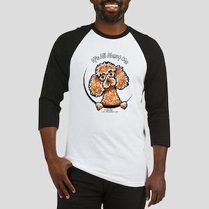 Apricot Poodle IAAM Baseball Jersey