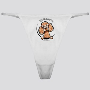 Apricot Poodle IAAM Classic Thong