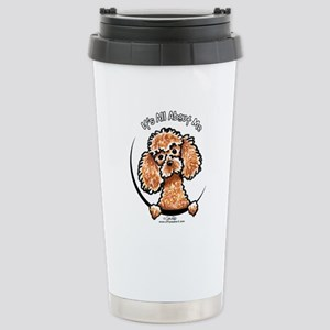 Apricot Poodle IAAM Stainless Steel Travel Mug