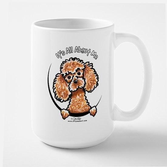 Apricot Poodle IAAM Large Mug