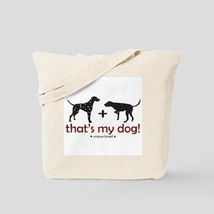 Dalmatian/Pointer Tote Bag