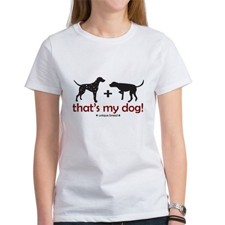 Dalmatian/Pointer Women's T-Shirt
