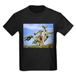 Tucson Saguaro Monster Kids Dark T-Shirt