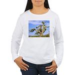 Tucson Saguaro Monster Women's Long Sleeve T-Shirt