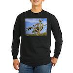 Tucson Saguaro Monster Long Sleeve Dark T-Shirt