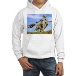 Tucson Saguaro Monster Hooded Sweatshirt