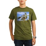 Tucson Saguaro Monster Organic Men's T-Shirt (dark