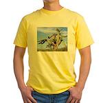 Tucson Saguaro Monster Yellow T-Shirt