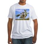 Tucson Saguaro Monster Fitted T-Shirt