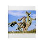 Tucson Saguaro Monster Throw Blanket