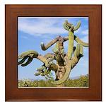 Tucson Saguaro Monster Framed Tile
