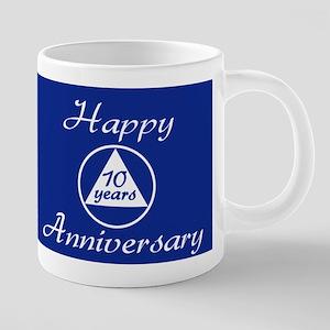 Happy Joyous and Free Anniv 20 oz Ceramic Mega Mug